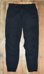 Nike Air Jordan City Pants Ripstop Joggers Black Cotton 653439-010 Mens Size 32