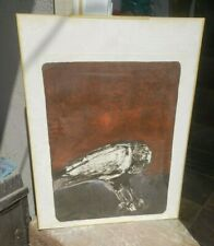 NATHAN OLIVEIRA Signed 1957 Original Lithograph - The Great Bird 1/15