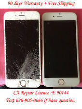 """iPhone 6 Plus 5.5"""" Broken Cracked Screen LCD Digitizer Touch Repair Service"""
