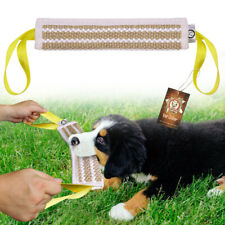 Aggressive Chew Toys for Dogs Indestructible Pet Builder Training Jute Bite Tug