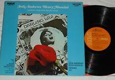 DARLING LILI (1969) RCA VICTOR Soundtrack LP w/Julie Andrews