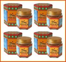 21gm Original Big Jar Tiger Balm Red Massage Spa Pain Relief pack of 4
