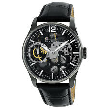 Invicta Vintage Mechanical Grey Skeleton Dial Mens Watch 12406