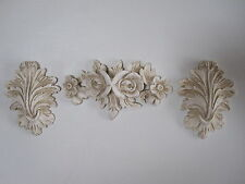 SHABBY CHIC DECORATIVE FRENCH COUNTRY  MOULDING SET  FURNITURE /FIRE SURROUND
