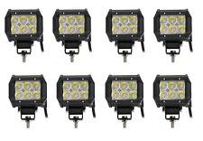 8x HIGH POWER 12V 24V LED 18W WORK LAMP SPOT LIGHT IVECO DAF MAN SCANIA VOLVO