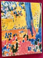 Sotheby's Impressionist & Modern Art Evening Sale Catalog May 9 2016 New York