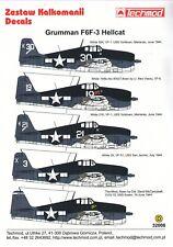 NEW 1:32 Techmod Decals 32006 Grumman F6F-3 Hellcat
