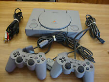 SONY PLAYSTATION 1 CONSOLE  MODEL SCPH 9001 COMPLETE WITH TWO CONTROLLERS