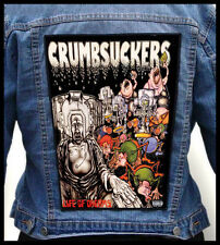 CRUMBSUCKERS - Life Of Dreams --- Giant Backpatch Back Patch