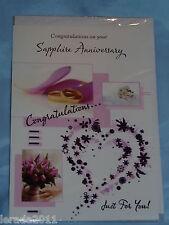 30th Birthday Card White Envelope Thirty Today Champagne Celebration Theme