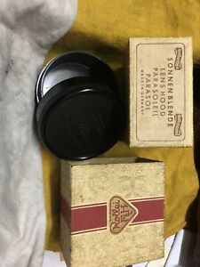 Only Original Paper Box & Plastic Case For Rollei Bay III Lens Hood.