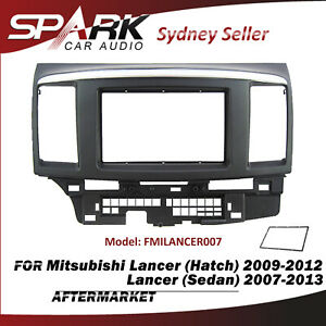 AD Double DIN Facia Kit Panel Fascia Dash Plate For Mitsubishi Lancer 2007-2013