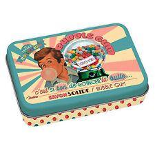 Jabon de Marsella + Caja Metalica Vintage Aroma CHICLE FRESA 100gr 611240 7101