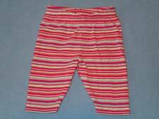 Sprout Cute Little Girls Striped Leggings, Size 000