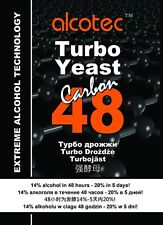 Alcotec 48 turbo Carbon super yeast alcohol spirit free P&P