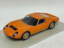 1/18  Lamborghini Miura in Orange Resin Hand Build n  BBR or MR.