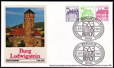 Berlin W 76 FDC, Zusammendruck Burgen + Schlösser 1980