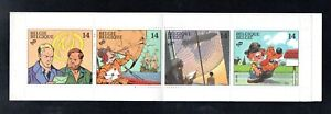 NICE MINT BOOKLET OF BELGIUM, (POST HISTORY, ANIMATION),1991, MNH**