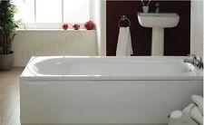 1600MM  WHITE SINGLE ENDED BATH + LEG SUPPORT KIT  **BRAND NEW**
