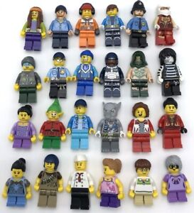 LEGO NEW MINIFIGURES YOU PICK WHAT FIGURES YOU WANT SPACE POLICE TOWN CITY MORE