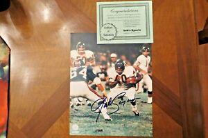 Gale Sayers Chicago Bears 8x10 Photo Signed Autographed COA bob's Sports