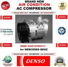 DENSO AIR CONDITIONING AC COMPRESSOR A5412300411 for MERCEDES BENZ BRAND NEW