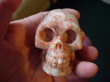 Crystal skull fire marble Hq 14