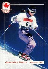 1992 Canadian Olympic Hopefuls #79 Genevieve Fortin