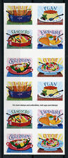 USA 2017 MNH Delicioso Latin American Cuisine 20v S/A Booklet Gastronomy Stamps