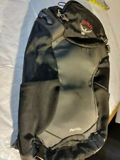 Osprey Meridian Daypack Black/Gray Carry On for Attachment Vfine Free Ship