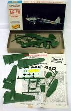 Lindberg 440~1:72~Messerschmitt Me-410~WW2 German Fighter Plane~Model Kit~1966
