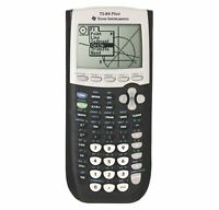New Texas Instruments TI-84 Plus Graphics Calculator, Black