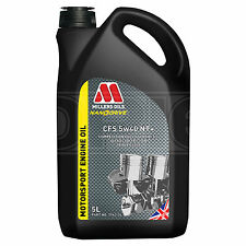 MILLERS Oils NANODRIVE CFS 5w40 NT Fully Synthetic Engine Oil 5l 5 Litres