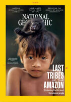 National Geographic Magazine October Issue 2018 Last Tribes of the Amazon