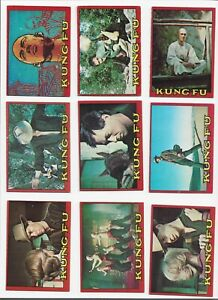 Kung Fu set of 60 cards 1973 Topps excellent