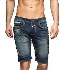 One Public OneP Jeans Short Bermuda Vintage Used Style kurze Hose Capri Pant W32