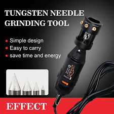 Tig Welding Tungsten Electrode Grinder Sharpener Head Tool With Rotary Tool 110v