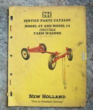 New Holland Service Parts Catalog 4T & 14 Conestoga Farm Wagons->