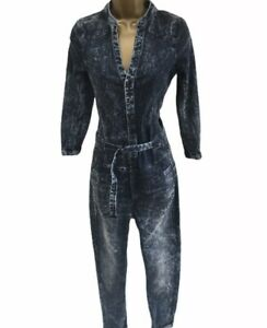 Neu G-Star Raw Midge Rw Suit WMN Gr M Overall Dk Aged Anzug Suits Damen