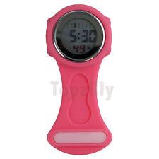 2019 Digital Multi Function Pink Nurses/Brooch/Tunic/Fob/Pocket/ Silicone Watch