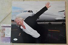 Richard Branson Signed 11x14 Photo w/ JSA COA #L51438 + Proof