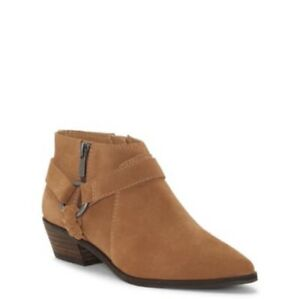 Lucky Brand Enitha Harness Ankle Women's Boots Cognac/Sz:9/NWT
