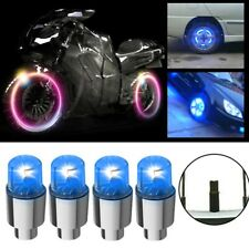 4x Car Auto SUV Wheel Tire Tyre Air Valve Stem LED Light Caps Cover Accessories