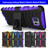 Samsung Galaxy Note2 Note3 Note4 Note5 Case Heavy Duty Tough Kickstand