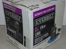 Everbilt 1/8 HP Pool Cover Pump