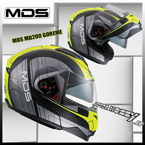 CASCO MOTO MODULARE APRIBILE MDS MD 200 BY AGV GOREME TAGLIA S (55 - 56)