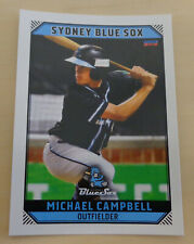 Michael Campbell 2018/19 Australian Baseball League card - Sydney Blue Sox