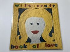Witchcraft Book Of Love Lp tested vg+ electronic lp synth pop lp cleaned lp