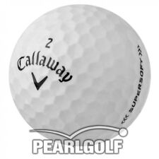50 CALLAWAY SUPERSOFT 2017 GOLF BALLS - ALL PEARL - LAKE BALLS - NO PEN MARKS