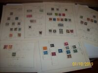 Sweden 1858-1920, used collection on pages, fine quality